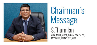 chairman's message
